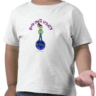 Regla ligera el chica del mundo camisetas