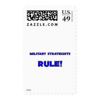 ¡Regla militar de los estrategas! Sellos