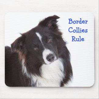 Regla Mousepad del border collie
