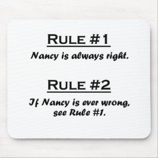 Regla Nancy Mouse Pad