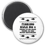 Regla ningunos de la pesca 4 imán