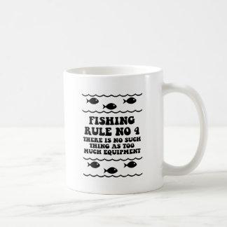 Regla ningunos de la pesca 4 taza clásica