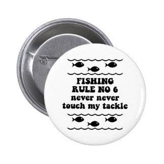 Regla ningunos de la pesca 6 pin