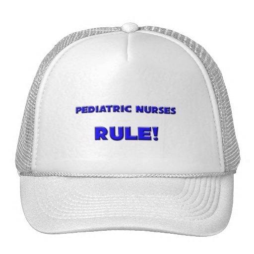 ¡Regla pediátrica de las enfermeras! Gorras
