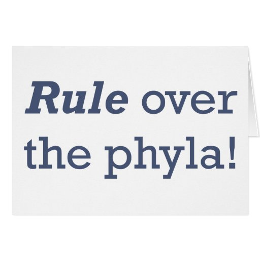 Regla/Phyla Felicitacion