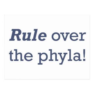 Regla/Phyla Tarjeta Postal