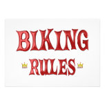 Reglas Biking Invitaciones Personales