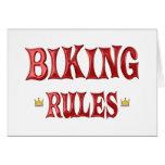 Reglas Biking Tarjeta