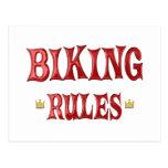 Reglas Biking Tarjetas Postales
