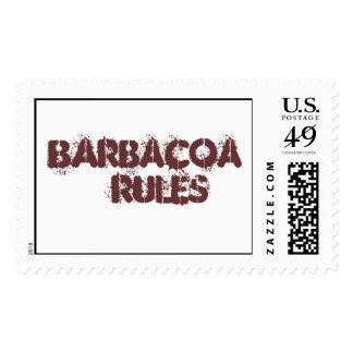 Reglas de Barbacoa, el sello