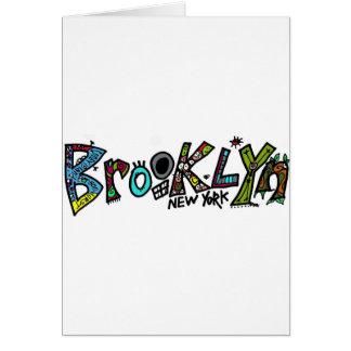 ¡Reglas de Brooklyn! en apenas alrededor de cualqu Tarjeta De Felicitación