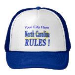 ¡Reglas de Carolina del Norte! Gorros Bordados
