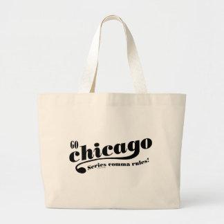 Reglas de Chicago Bolsa Tela Grande