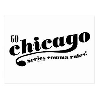 Reglas de Chicago Tarjeta Postal