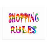 Reglas de compras postal