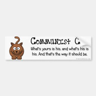 Reglas de comunismo pegatina para auto