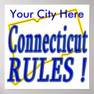 ¡Reglas de Connecticut! Poster