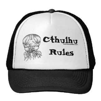 Reglas de Cthulhu Gorros Bordados