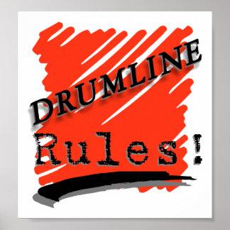 Reglas de Drumline Impresiones