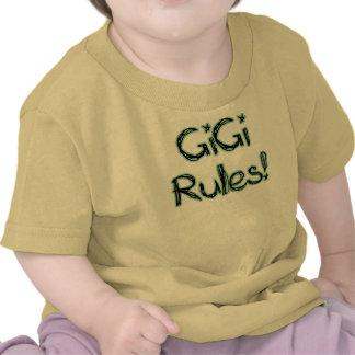 ¡Reglas de GiGi! Camisetas