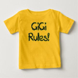 ¡Reglas de GiGi! Playera