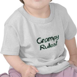 Reglas de Grampy Camisetas