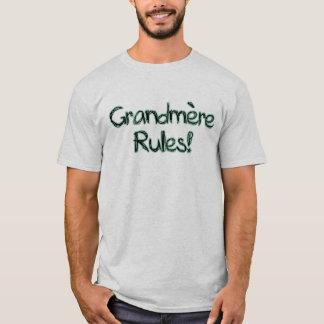 ¡Reglas de Grandmere! Playera
