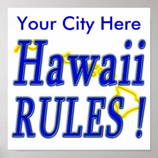 ¡Reglas de Hawaii Impresiones