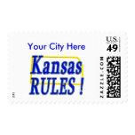 ¡Reglas de Kansas! Sellos