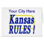 ¡Reglas de Kansas! Tarjeta
