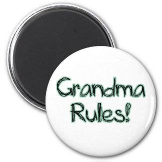 ¡Reglas de la abuela Iman De Frigorífico