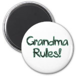 ¡Reglas de la abuela! Iman De Frigorífico