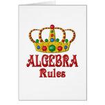 Reglas de la ÁLGEBRA Felicitación