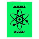 reglas de la ciencia felicitación