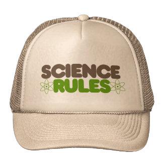 Reglas de la ciencia gorra