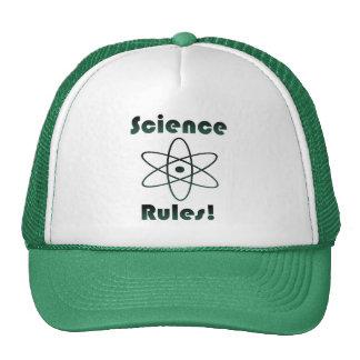 Reglas de la ciencia gorras