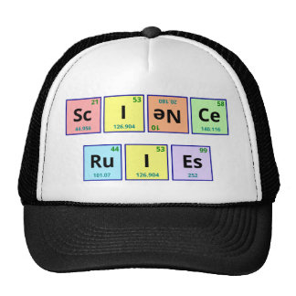 Reglas de la ciencia gorro