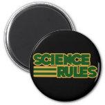 Reglas de la ciencia imán para frigorifico