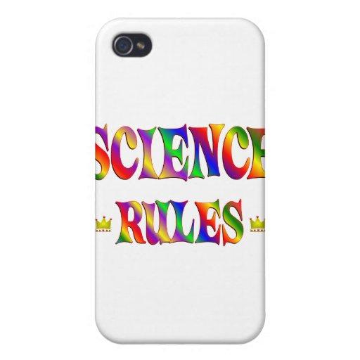 Reglas de la ciencia iPhone 4/4S fundas
