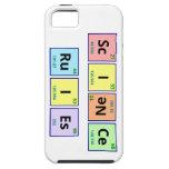 Reglas de la ciencia iPhone 5 funda