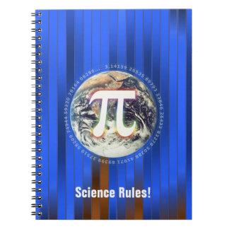 ¡Reglas de la ciencia! Libreta del día de Personal
