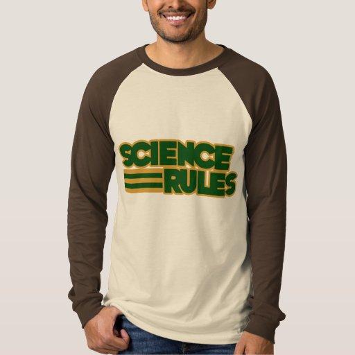 Reglas de la ciencia playeras