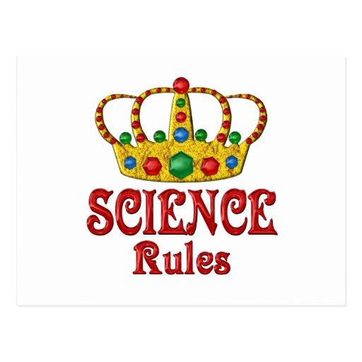 Reglas de la CIENCIA Postal