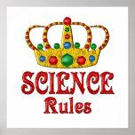 Reglas de la CIENCIA Poster