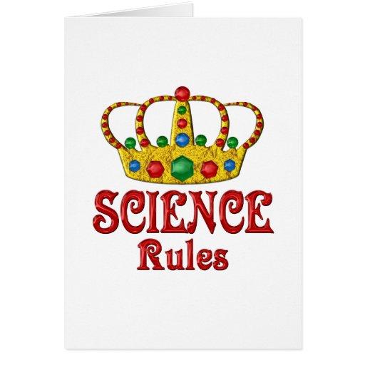 Reglas de la CIENCIA Tarjetón