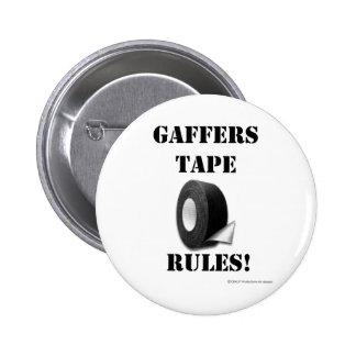 Reglas de la cinta de los capataces pin