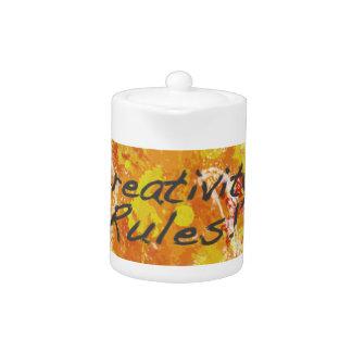 ¡Reglas de la creatividad!