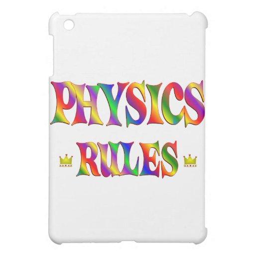 Reglas de la física