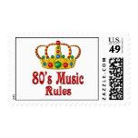reglas de la música 80s envio