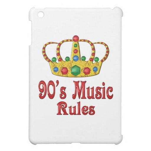reglas de la música 90s